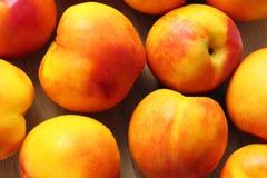 close-up Vermelho-amarelo das nectarina Fotografia de Stock Royalty Free