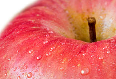 Close-Up vermelho de Apple Fotos de Stock Royalty Free