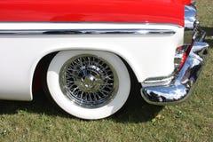 Close up vermelho do carro do vintage Fotografia de Stock
