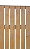 Close up vertical isolado de madeira da cerca de piquete Foto de Stock
