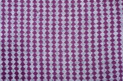 Close up on vertical knit woolen fabric texture. stock photography