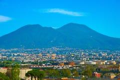 Close-up of Vesuvius mountain. Italy Royalty Free Stock Photos