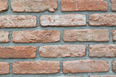 Close up view of aged brick wall stock images