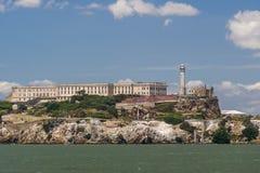Close up view of Alcatraz Island royalty free stock photos