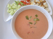 Andalusian gazpacho Stock Photography