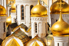 Close up view of Annunciation Cathedral cupola Stock Image