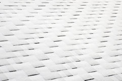 Close up view on Asphalt Roofing Shingles Background. Roof Shingles - Roofing. Roof shingles covered with frost Stock Photography