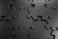 Geometric Pattern Of Jigsaw Puzzle Royalty Free Stock Photos