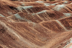 Close up view of badlands background loking waves Stock Photos