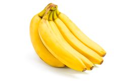 Close up view of bananas Royalty Free Stock Images
