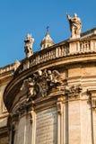 Close up view of the Basilica di Santa Maria Maggiore, Rome Stock Photography