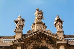 Close up view of the Basilica di Santa Maria Maggiore, Rome Stock Images