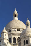 Close-up view of the Basilica of the Sacre Coeur, Paris, France Stock Photos