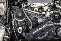 Car Engine Detail royalty free stock photo