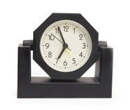 Close up view of black clock Stock Photo