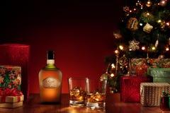 Winter rum Stock Photo