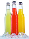 Close up view of the bottles Royalty Free Stock Images