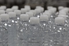 Close-up view of bottles of water Royalty Free Stock Photo