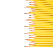 Yellow pencils Royalty Free Stock Photos
