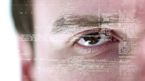 Close up view of a business stock footage