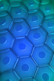 Close up view of a cell wall Stock Images