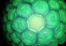 Close up view of a cell wall Stock Photo