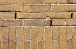Close up view on colorful weathered and aged brick walls in high resolution. Found in germany royalty free stock photography