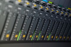 Free Close Up View Computer Monitor Digital Audio Workstationor DAW Music Production App Stock Images - 166627614