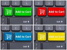 Close-up view of conceptual keyboard royalty free stock photos