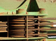 Close Up View of Construction Equipment Stock Image