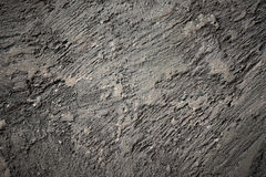 Close-up view of cracked solid natural stone Stock Photos