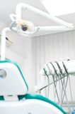 Close-up view of dental tools Royalty Free Stock Images