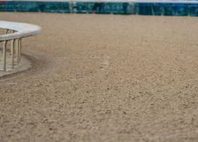 Close Up View of Dirt Track. With selective focus Royalty Free Stock Photo
