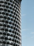 Close up view of Duo Residences in Singapore Stock Photo