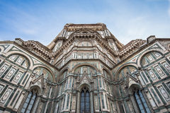 Close up view of Duomo in Florence, Italy.  Royalty Free Stock Image