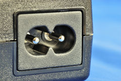 Close up view of a electric jack Stock Photography