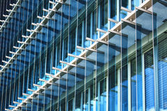 Close up view of facade of a modern architecture Royalty Free Stock Photography