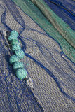 Close up view of fishing net Stock Image