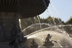 Close-up view of Fontaine de la Rotonde Royalty Free Stock Images