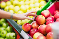 Close up view of fruits shelf Royalty Free Stock Images