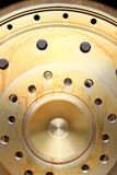 Close up view of gears from  mechanism Stock Images