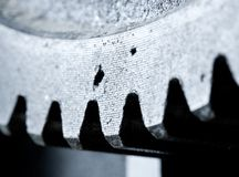 Close up view of gears from old mechanism Royalty Free Stock Photos