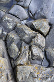 Close up view of Giant's Causeway Royalty Free Stock Image