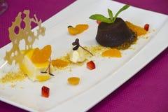 gourmet dish food royalty free stock photo