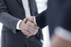 Handshake business concept royalty free stock photo