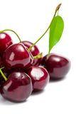 Close up view of heap of cherry stock images