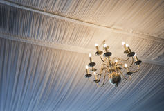 Close-up view of illuminated Chandelier Royalty Free Stock Image