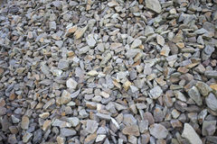 Close-up view of jagged rocks Royalty Free Stock Photography