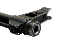 Close up view Kalashnikov assault rifle Stock Photos
