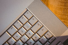 Close up view of a laptop Royalty Free Stock Photography